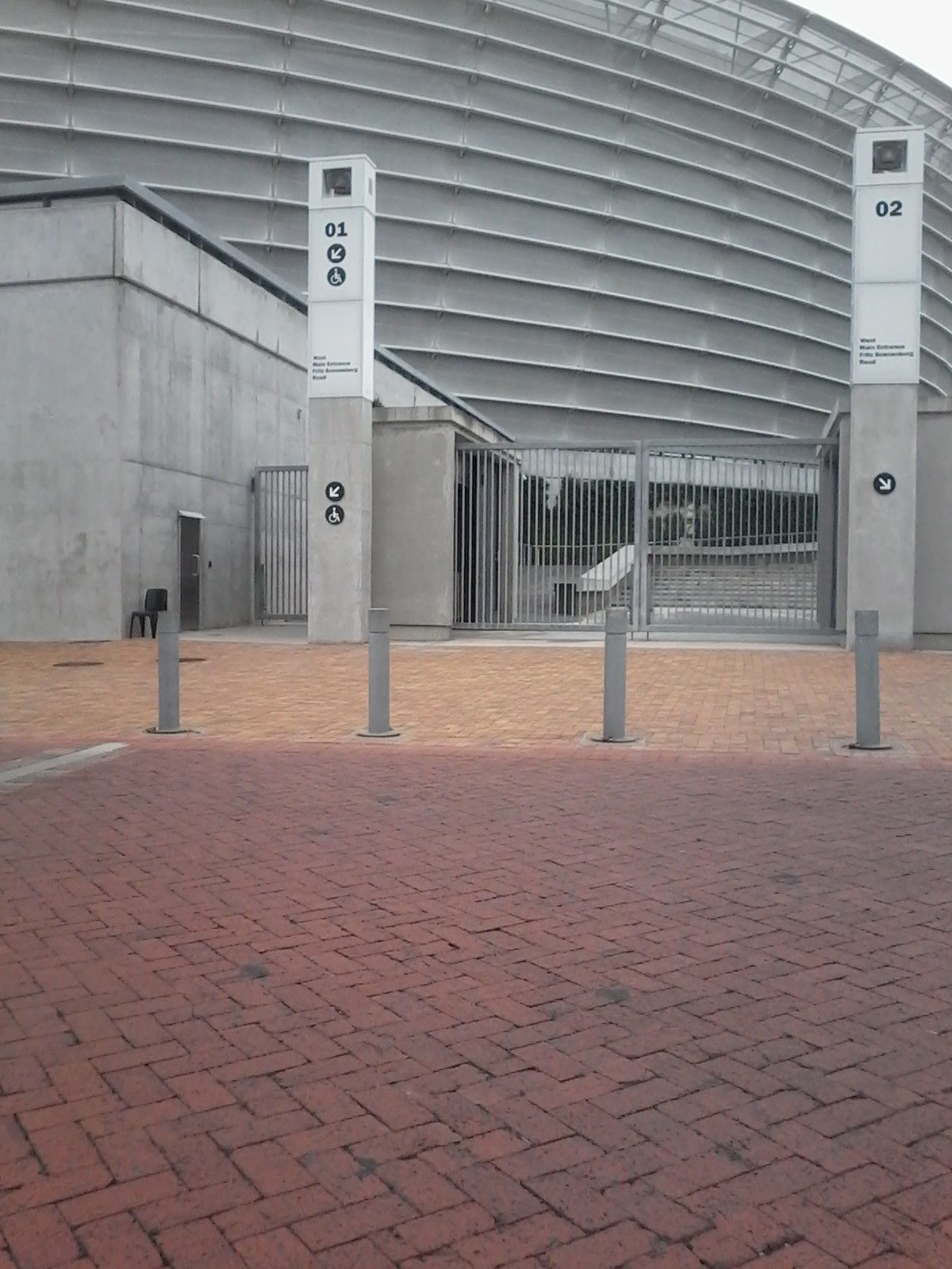 Cape Town Stadium Entrance